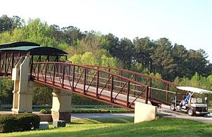 Path Peachtree City Ga This Bridge For Golf Carts Walkers Runners And Bikers Will Take You Right Over Ga Hwy 54 In Peachtree City My Home Georgia Homes