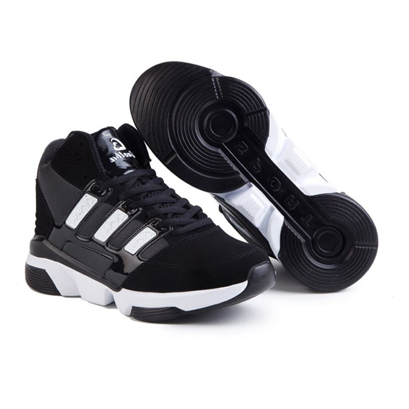 Elevated basketball shoes height increasing 8cm 32inch