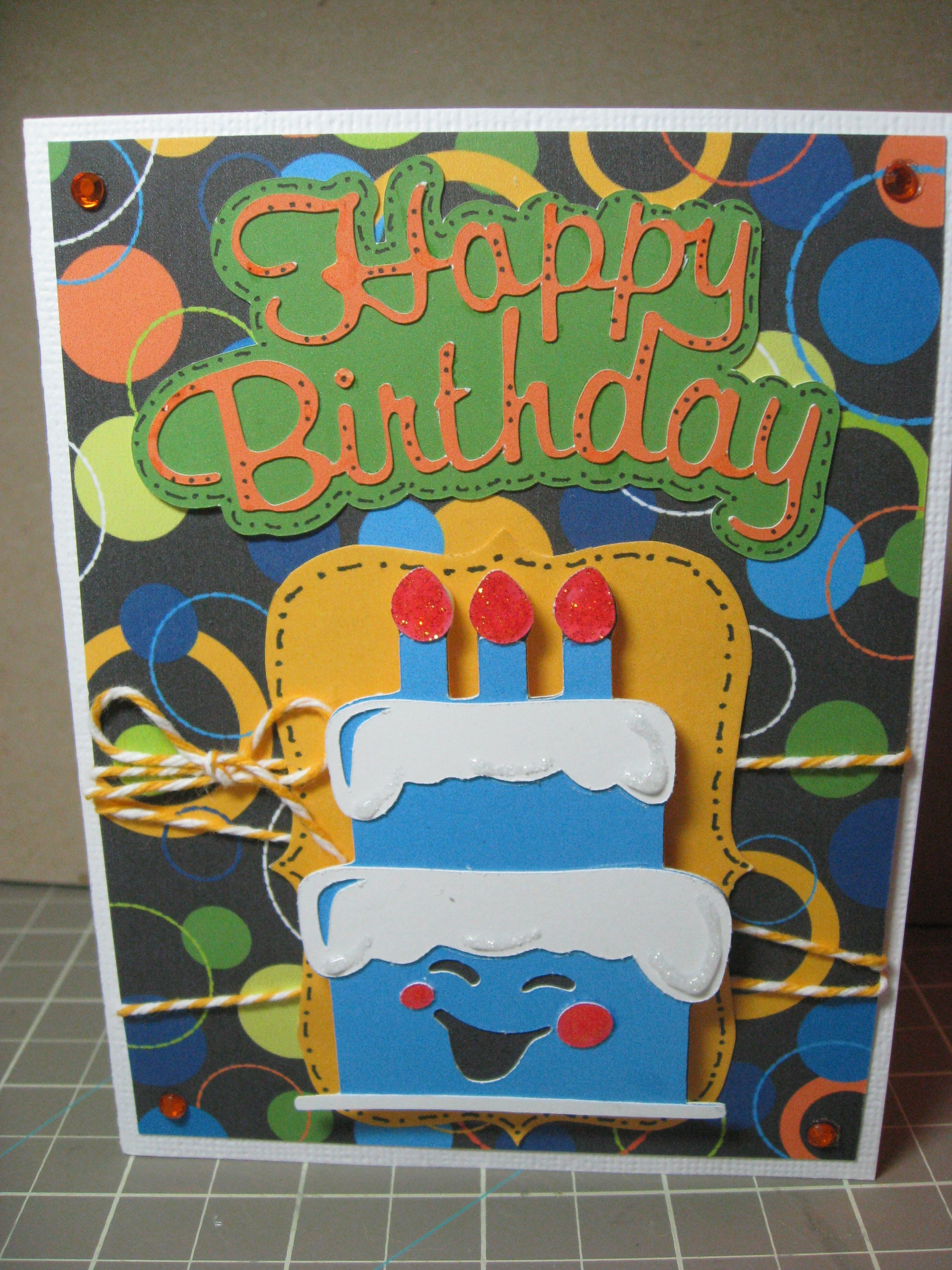 Another birthday card.