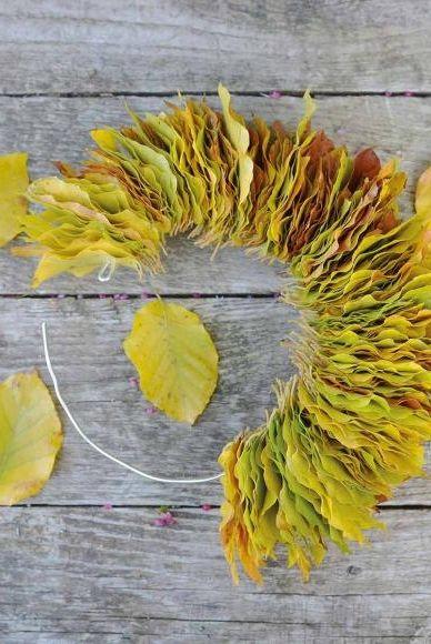 Herbstkränze selber machen
