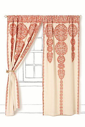 love these curtains - of course, www.anthropologie.eu (mit ...