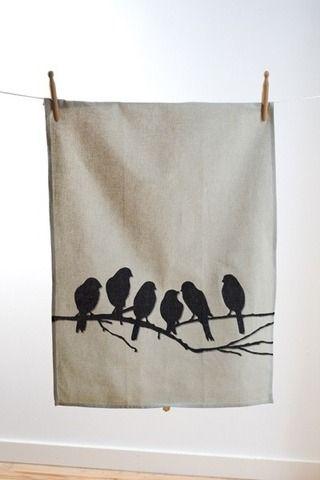 i love ferm living tea towels...i would like them all.