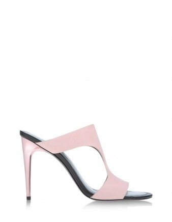 Kenzo Cutout Leather Sandal