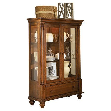 Found it at Wayfair - Display Cabinet in Chestnut | Home ...