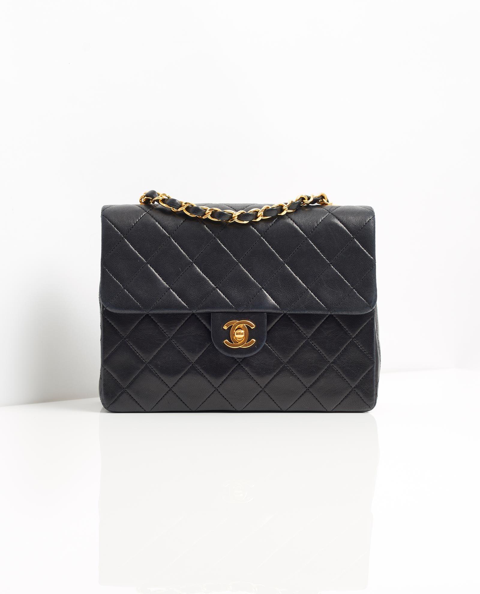 Vintage Chanel 8 Classic Flap Bag Classic Flap Bag Bags Chanel Bag
