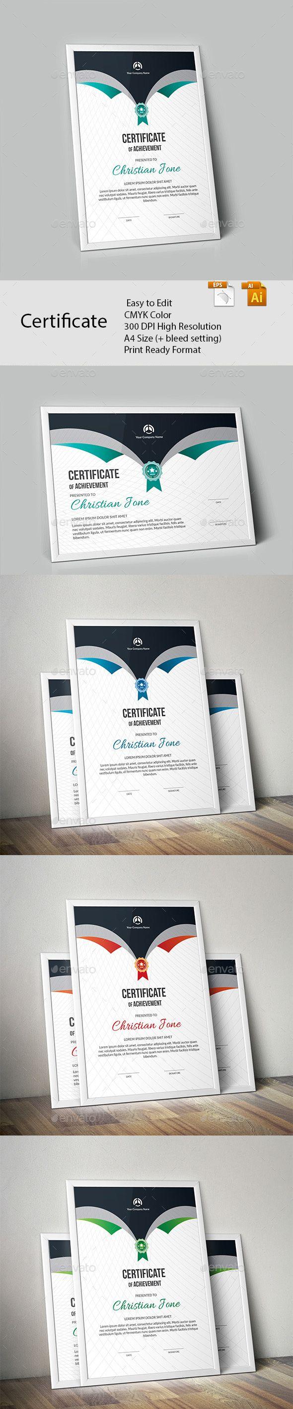 Certificate | Urkunde