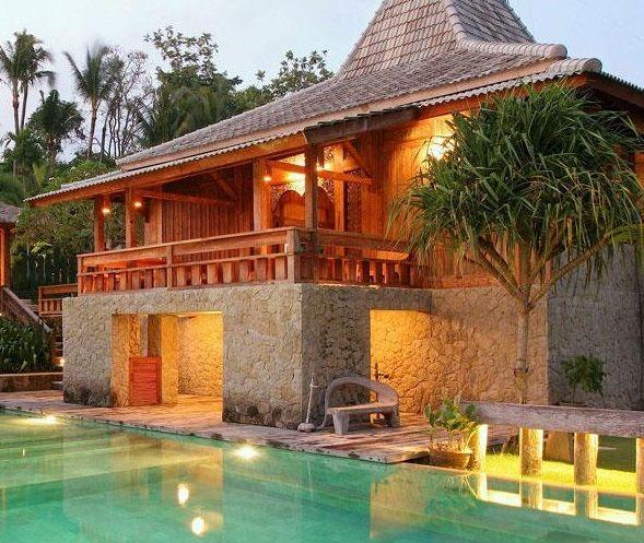Desain Rumah Klasik Joglo Jawa Desain Rumah Minimalis Rumah