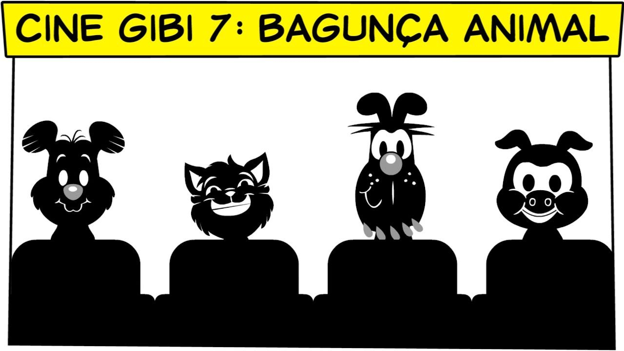 Cinegibi 7 Bagunca Animal Filme Completo Turma Da Monica