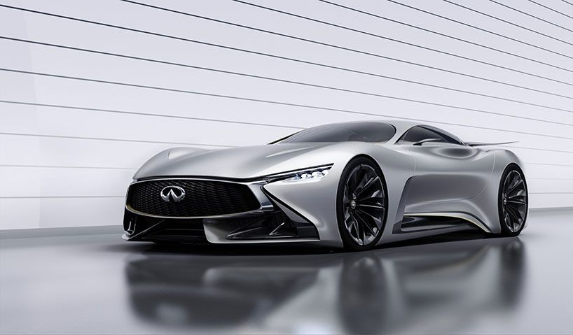 infiniti concept vision GT developed exclusively for gran turismo 6 on PS3