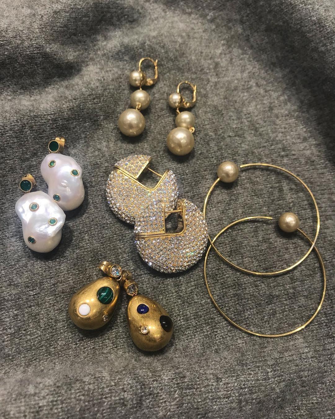 """1//2/"""" Round Pearl Stud Fashion Earrings Women Jewelry"""