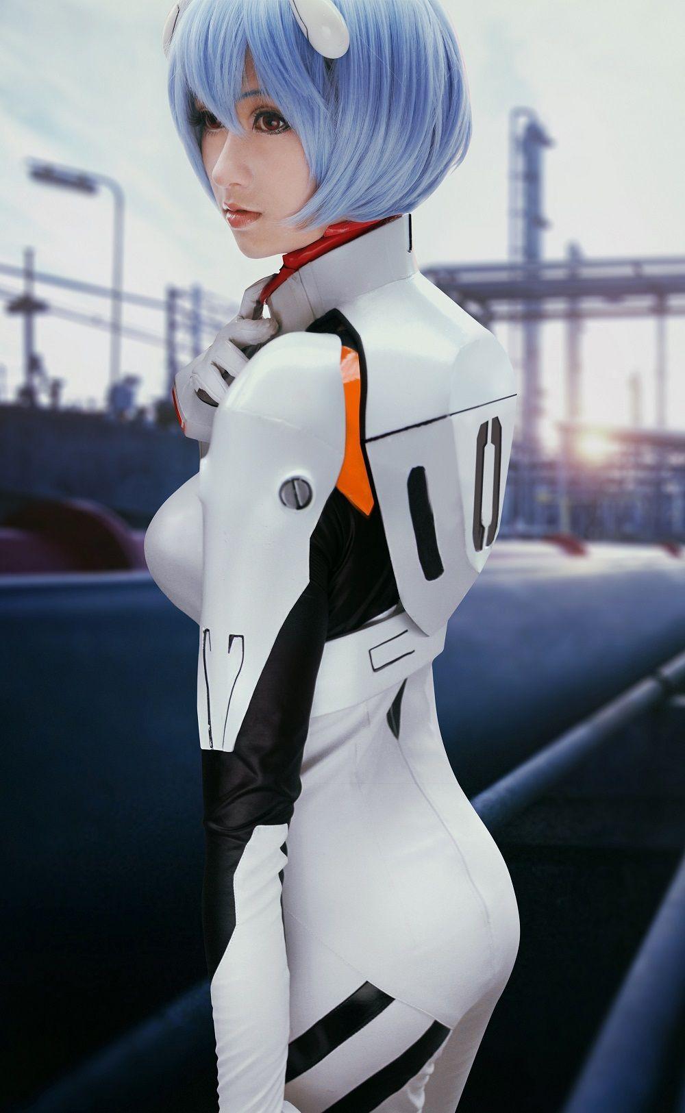 Rei Ayanami (Neon Genesis Evangelion) by MiShark