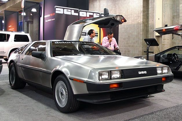 THE DeLorean! Apparently this one is Electric!