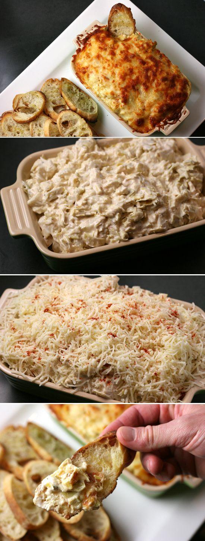 Cheesy Baked Artichoke Dip | Homemade Food Recipes