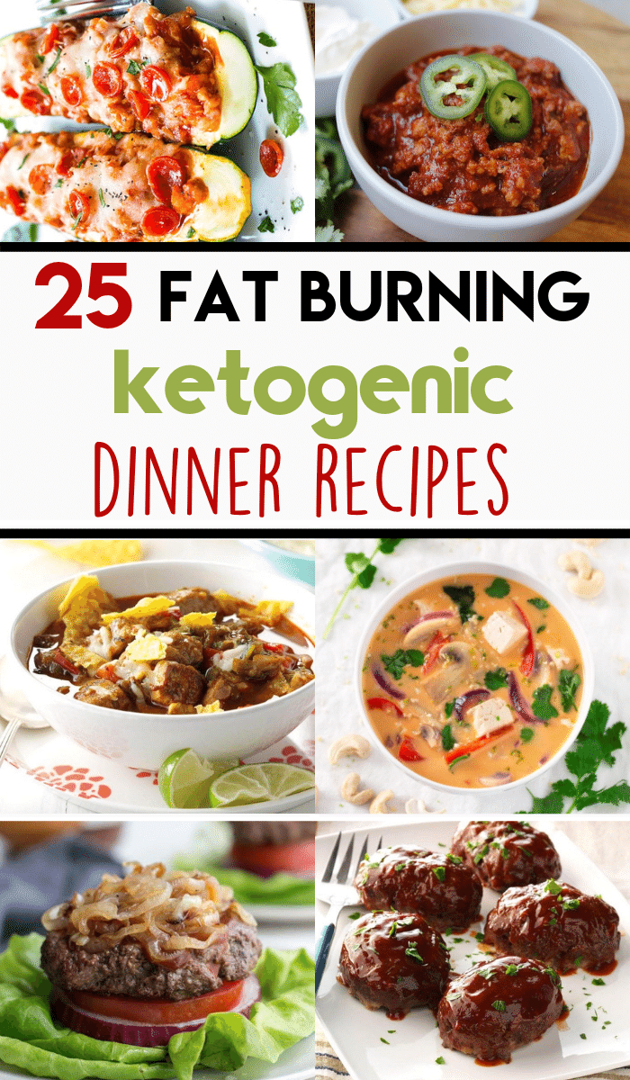 These ketogenic dinners are super EASY nd get ready in less than 30 minutes! Whip up these keto dinners in no time, also makes a great low carb meal! #ketorecipes #ketodinners #protiendiet