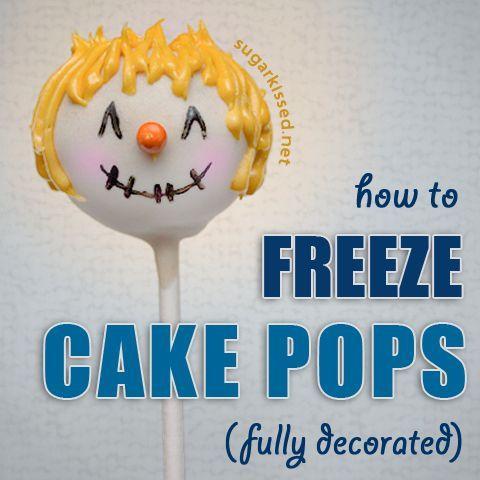 Can You Make Ahead And Freeze Cake Balls