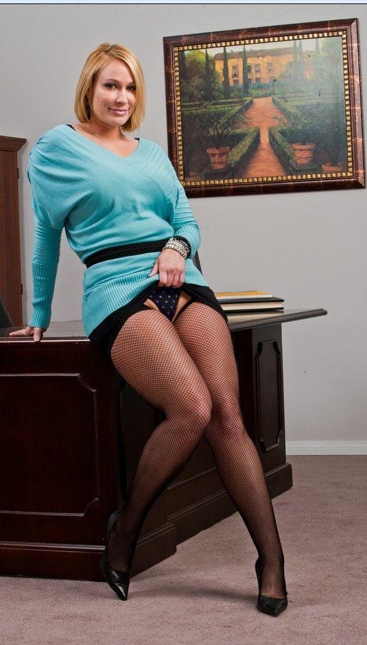 толстые секретарши в колготках будет рада