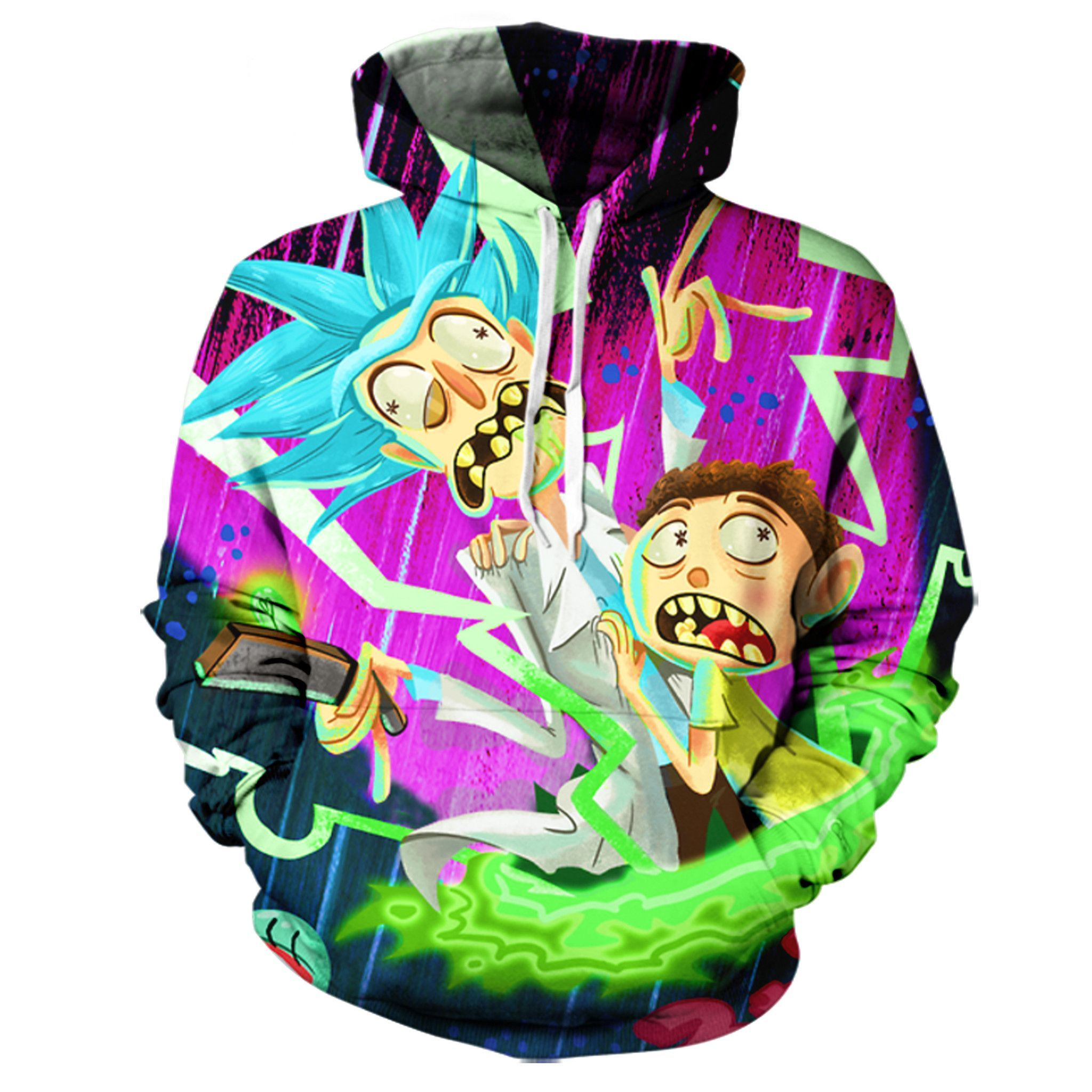 Rick And Morty Hoodie In 2018 Stuff To Buy Pinterest Hoodies Badly Drawn Tshirt Short Circuit Mens Online At Grindstore