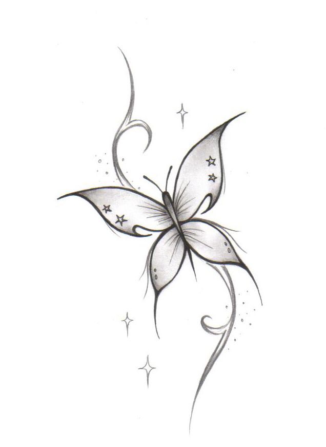 White Butterfly Free Tattoo Design Free Tattoo Designs Butterfly Tattoo Designs Butterfly Neck Tattoo