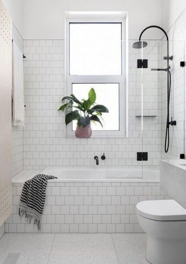 50+ Small Farmhouse Bathroom Inspirations BATHROOM IDEAS