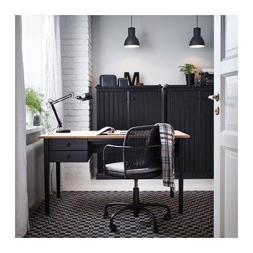 ARKELSTORP Desk - Black 140x70 Cm