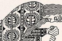 Three Quarks For Muster Mark Drawings Art Art Drawings
