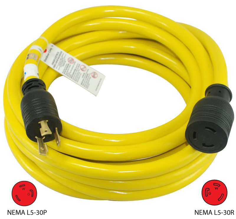 Conntek 20571 25ft 30a 3 Prong Generator Extension Cord More Info Http Conntek Com Products Generators For Sale Generator Transfer Switch Electrical Shop