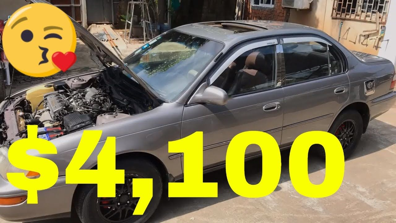 sale car in cambodia, $4100, Toyota Corolla, (1995), car