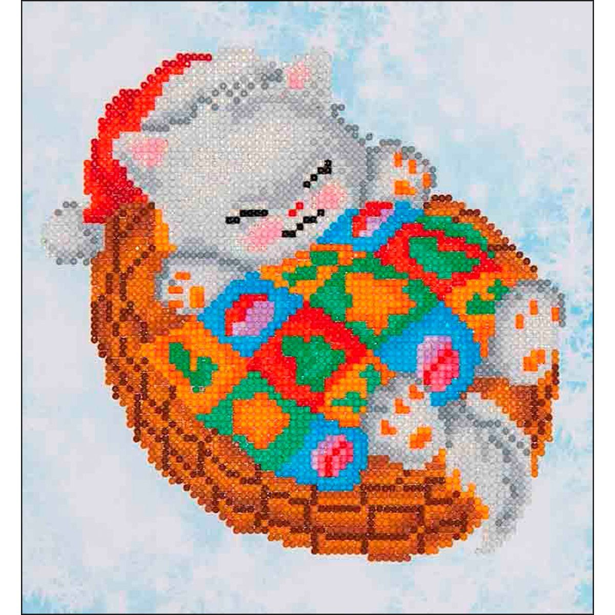 "Diamond Dotz Diamond Embroidery Facet Art Kit 11/""X11.75/""-Santa /& Teddies"