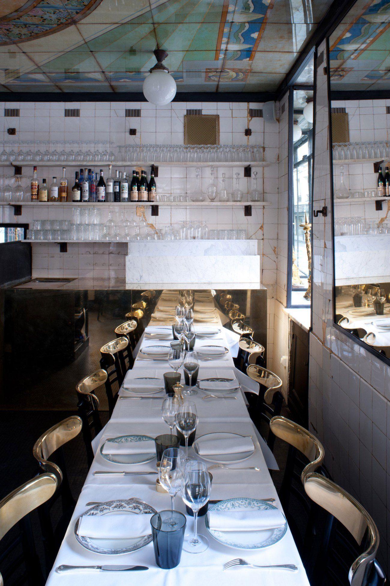 Anahi Restaurant Paris Selected By La Chaise Bleue Lachaisebleue Com Via Yatzer Design Ristorante Ristoranti Parigi Design Per Interni Ristorante
