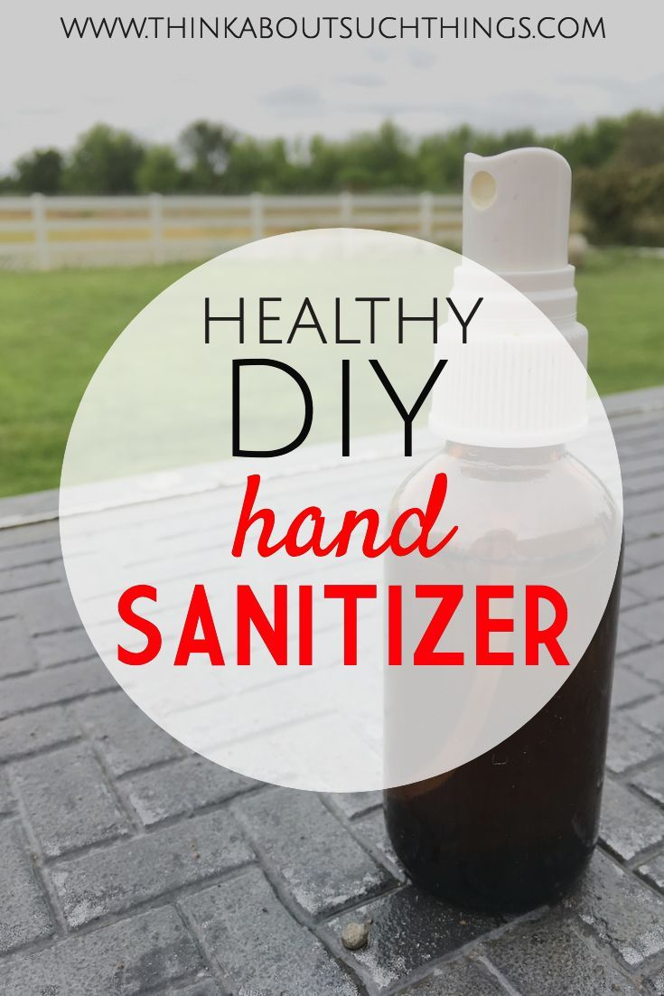 How To Make Healthy Hand Sanitizer At Home Hand Sanitizer