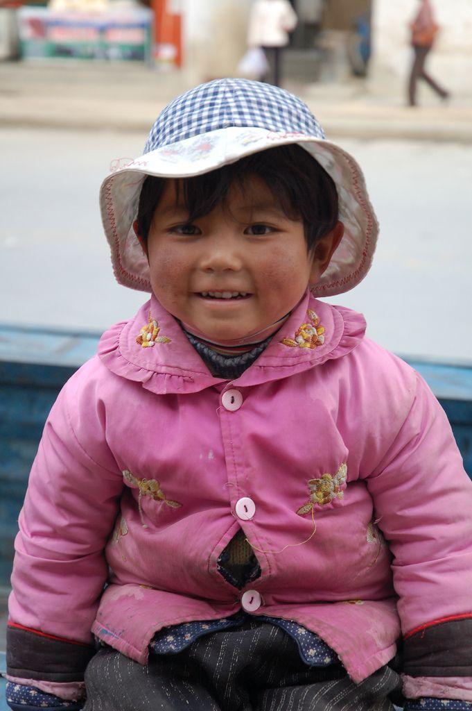 Little girl, Shigatse, Tibet