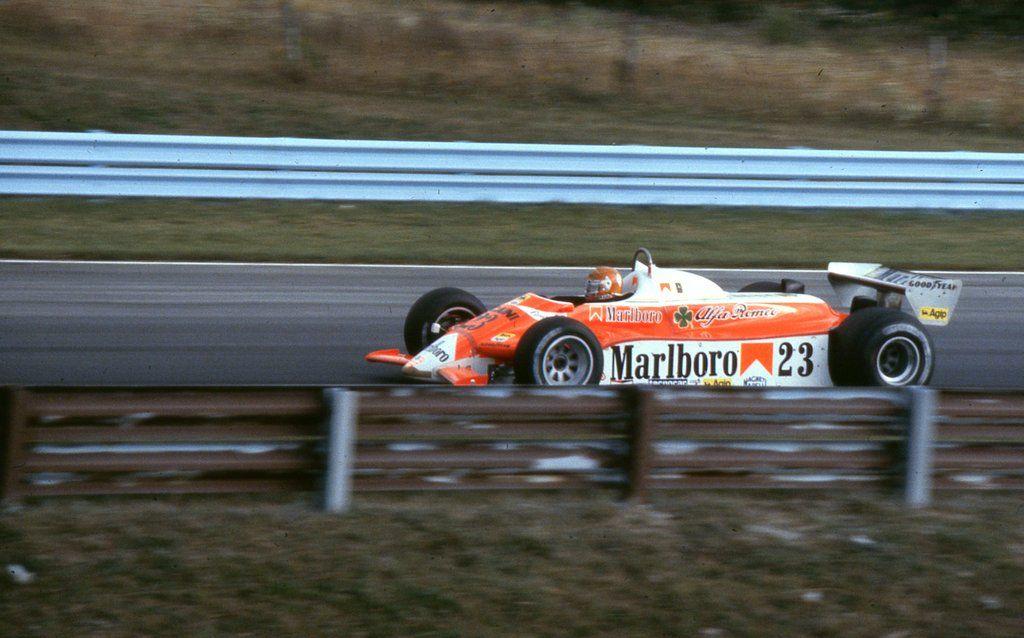 Bruno Giacomelli (ITA) (Marlboro Team Alfa Romeo), Alfa Romeo 179 - Alfa Romeo V12 (RET)  1980 United States Grand Prix (East), Watkins Glen Grand Prix Race Course  © ericok