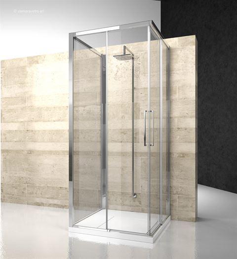 Model Za Za Zg Wall Installation Serie 7000 The 6mm Sliding Shower Enclosure With Minimal Profi Shower Enclosure Wall Installation
