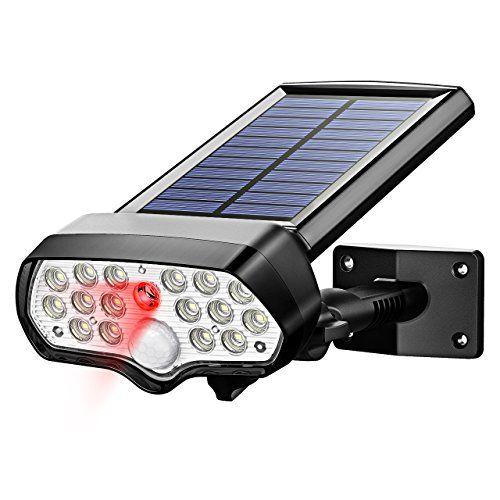 Litom Solar Lights Outdoor 17 Leds Safety Security Sol Motion Sensor Lights Outdoor Solar Lights Motion Sensor Lights Outdoor