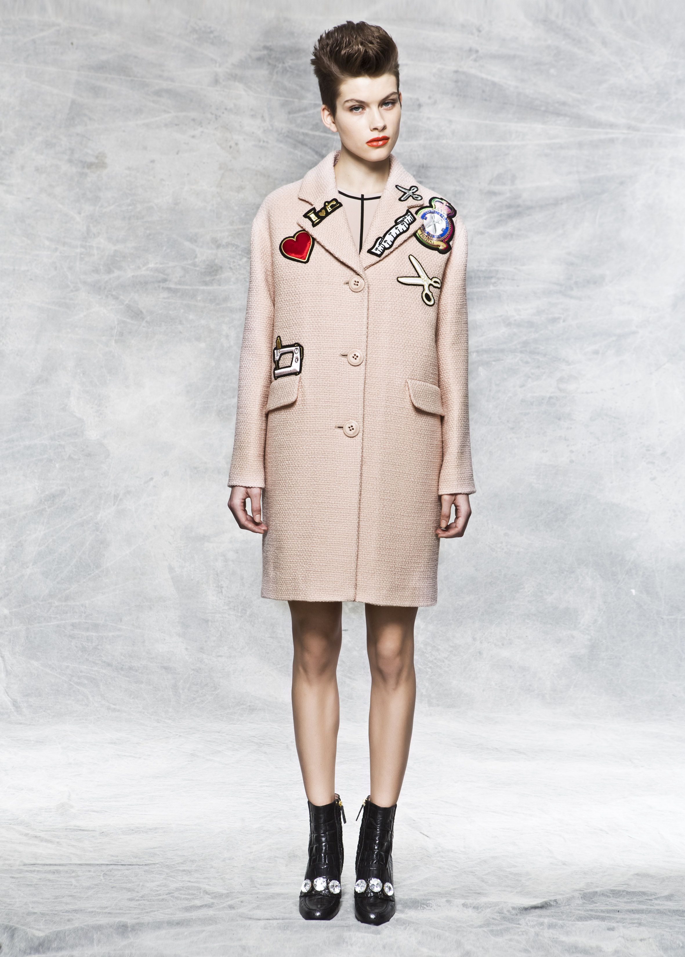 7b24e894d76 Moschino Cheap and Chic Fall Winter 2014-2015