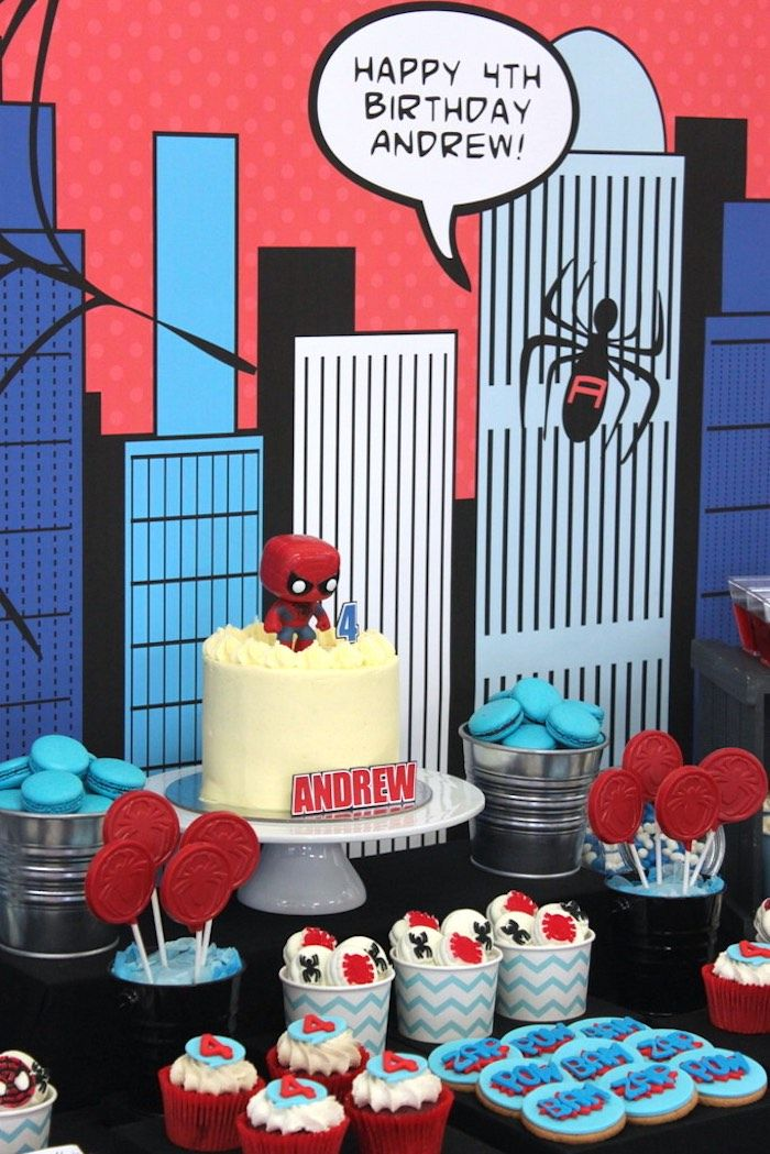 Amazing Spiderman Birthday Party Spiderman and Birthdays
