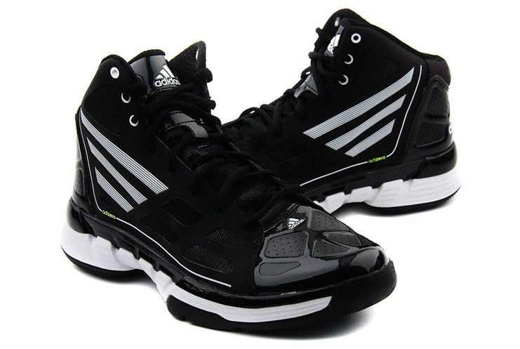 black adidas basketball shoes