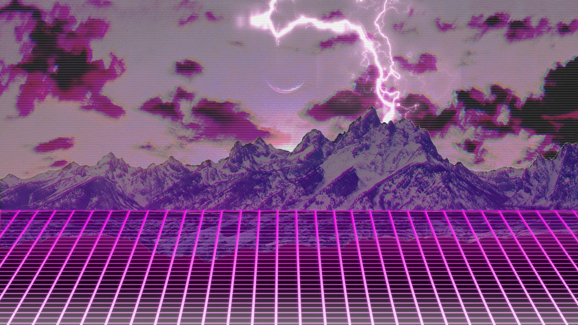 Free Synthwave Wallpaper 1920x1080 Wtg3107706 Yese69 Com 4k Wallpapers World