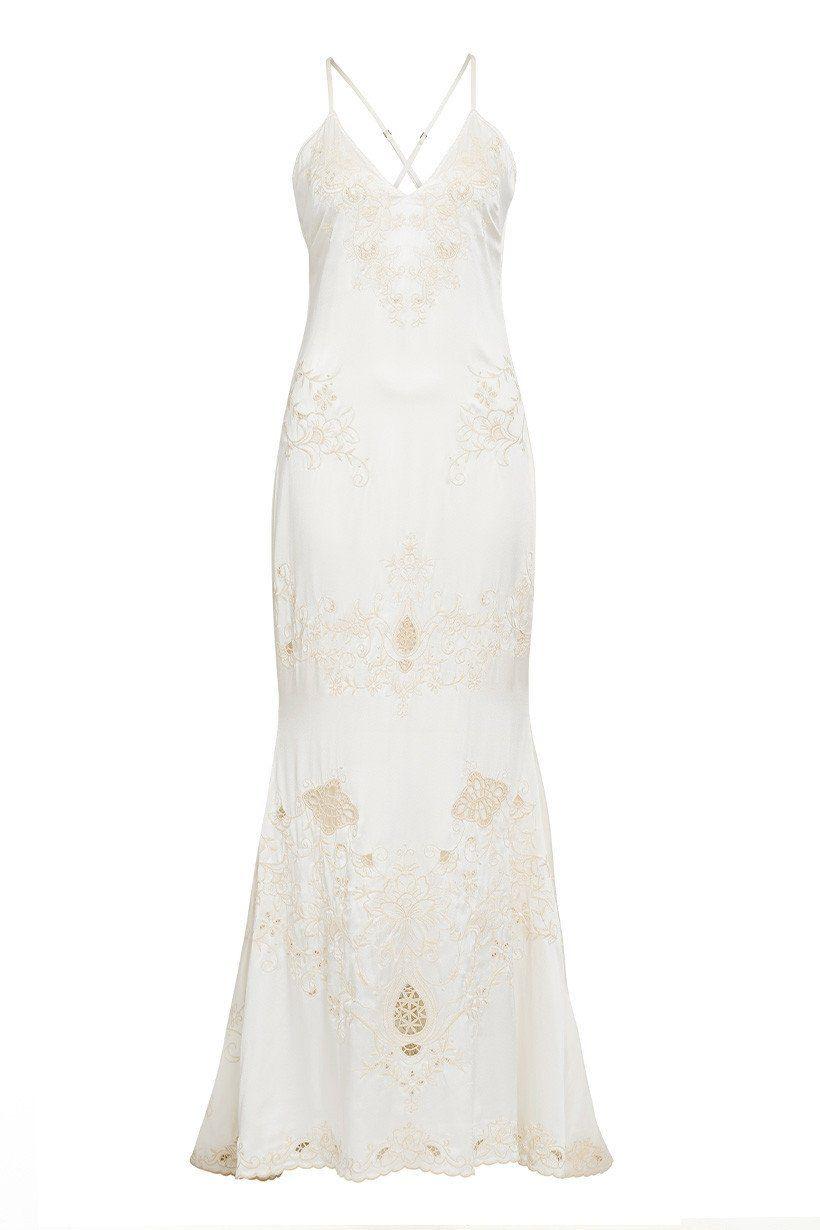 Wedding dress slip  Spell Designs Odette Slip Dress rollover  Renewal of My Vows