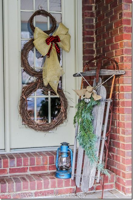 Old World Christmas Decorating Ideas   Christmas Porch Decorating ...