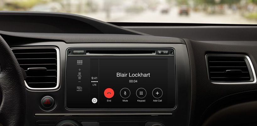 Apple Introduces Carplay An Integrated Ios Infotainment System For Iphone