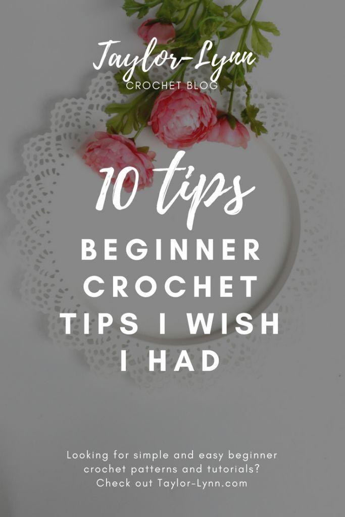 Photo of 10 Beginner Crochet Tips I Wish I Had
