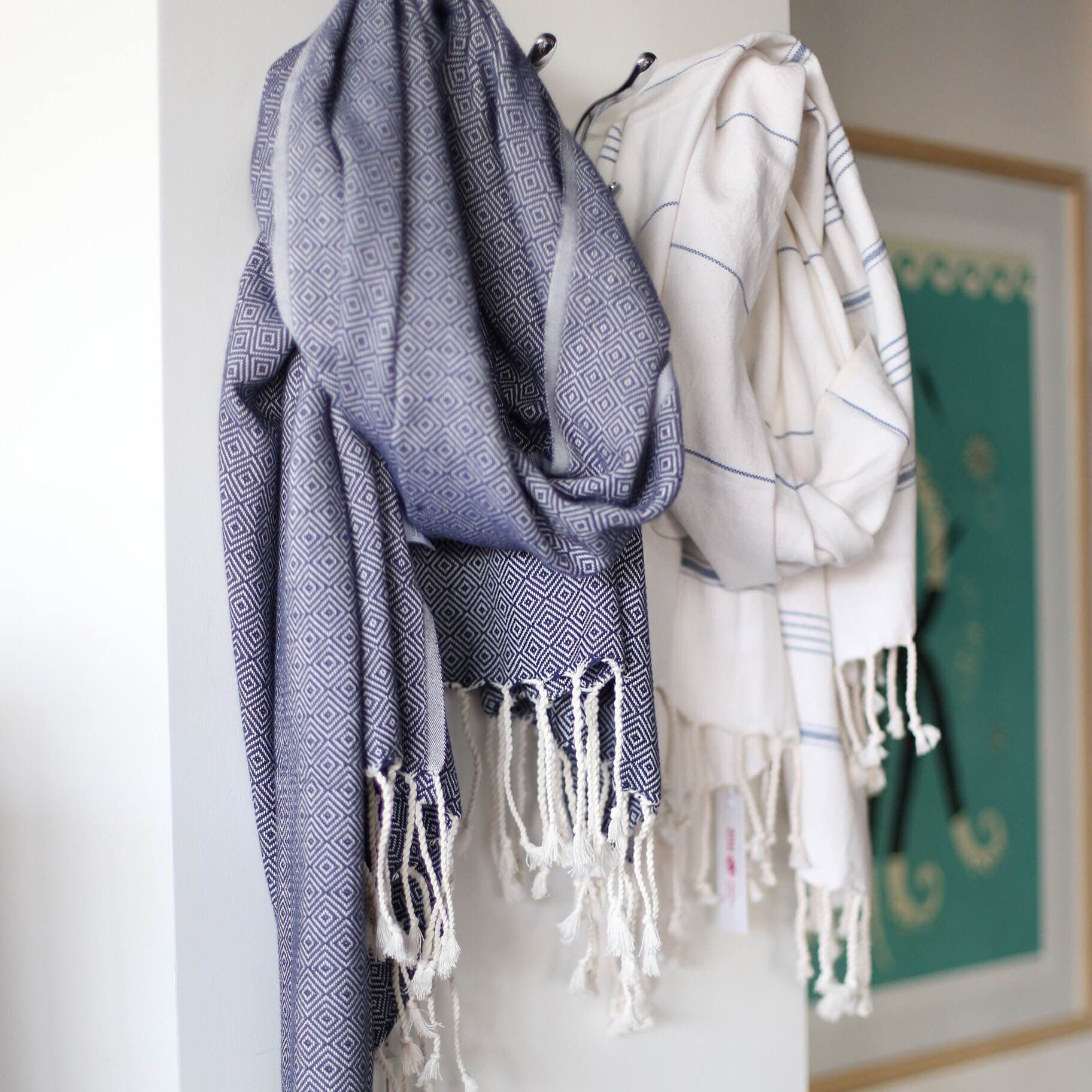 turkish towel scarf just like that available at - Turkish Towels