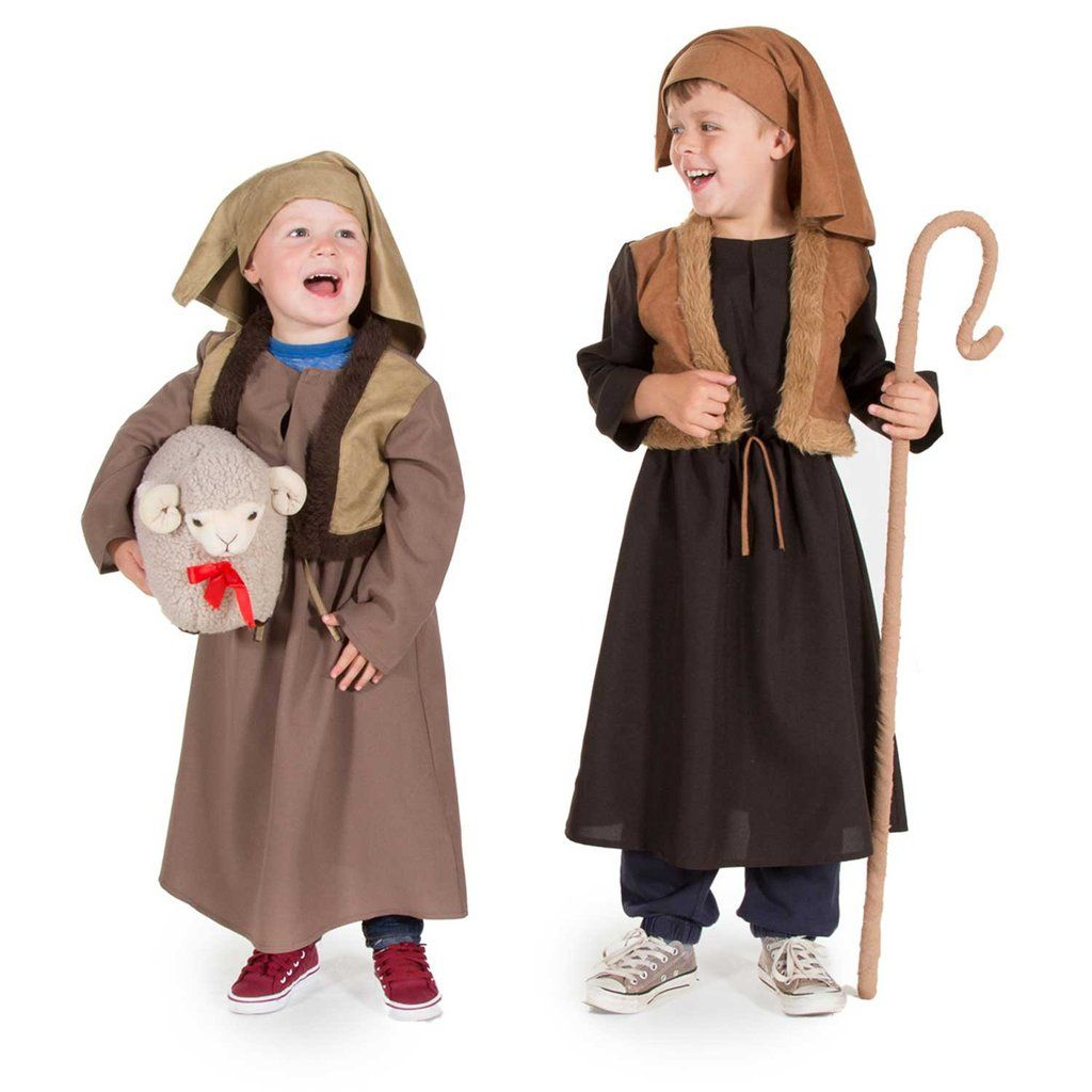 Childrenu0027s Shepherd Nativity Dress Up Costumes  Childrenu0027s Costume - Time to Dress Up Ayshea  sc 1 st  Pinterest : childrens dressing up costumes  - Germanpascual.Com