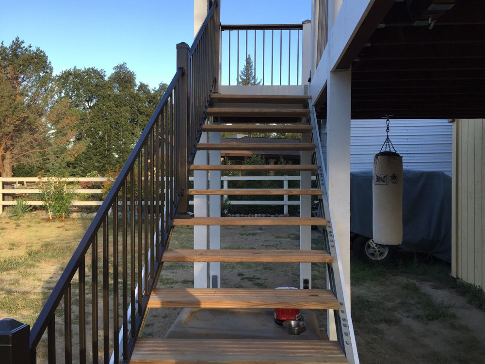 Best Deck Stair Stringers By Fast Stairs Com Decks ☾ Deck 400 x 300