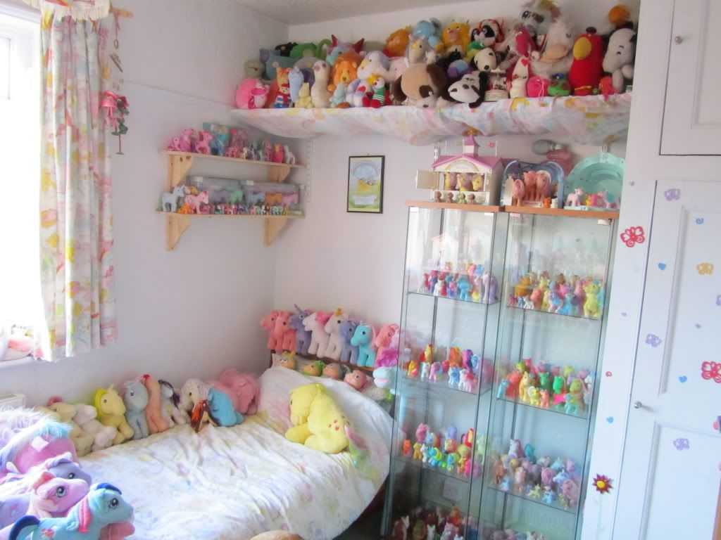My Little Pony Collection My Little Pony Bedroom Toy Collection Room Kawaii Bedroom