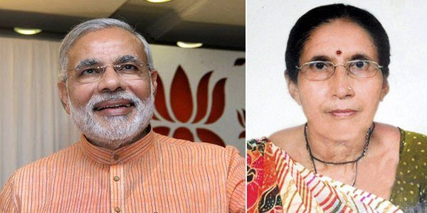 Modi S Wife Jashodaben Has Given Round The Clock Police Protection Protection Wife Fashion