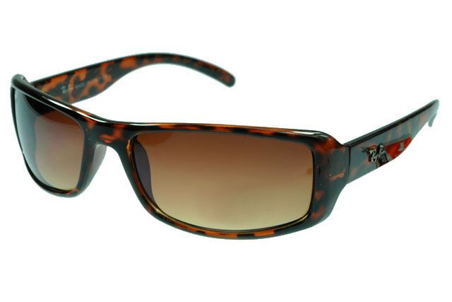 Ray Ban Jackie Ohh RB4216 Sunglasses Leopard Grain Frame Tawny Lens