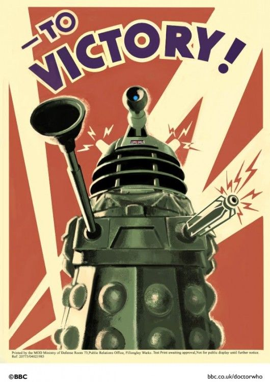 Dr who Retro Poster