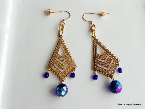 Got the Blues by MerryHeartJewel on Etsy
